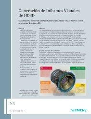 Generación de Informes Visuales de HD3D - Siemens PLM Software