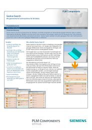 PLM Components Geolus Search - Siemens PLM Software