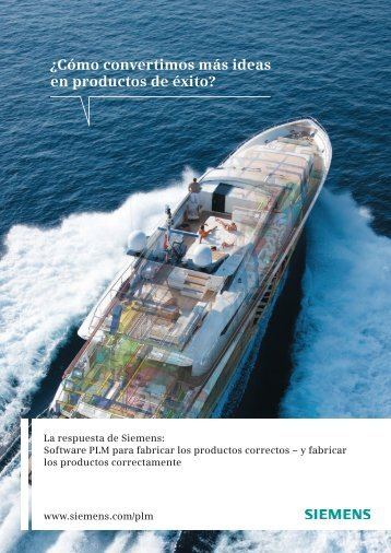 Division brochure -- driving product success (Spanish)