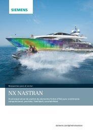 NX Nastran brochure (Spanish) - Siemens PLM Software