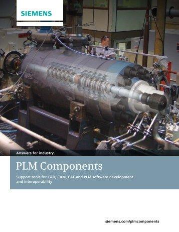 PLM Components Brochure - Siemens PLM Software