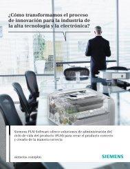 Respuestas para la industria de la alta tecnología y la electrónica