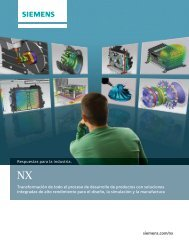 nx overview brochure (Mexican-Spanish) - Siemens PLM Software