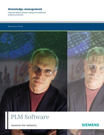 knowledge management executive brief - Siemens PLM Software