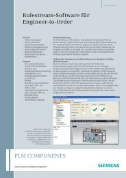 Rulestream software for Engineer to Order (German) - Siemens PLM ...