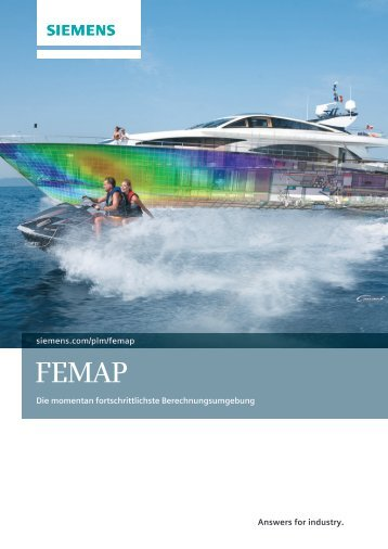 femap brochure (German) - Siemens PLM Software