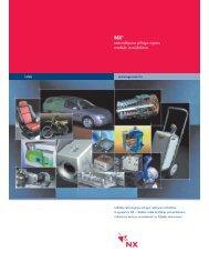 lejupielādēt brošūru par NX (Unigraphics)