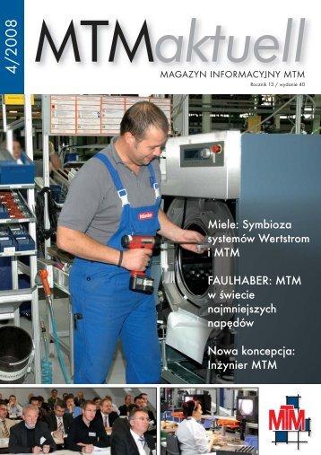 Otwórz MTM aktuell nr 04/2008 PL wersja elektroniczna w formacie ...