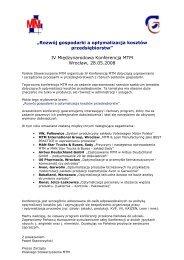 Konferencja MTM 2008 (Plik PDF)