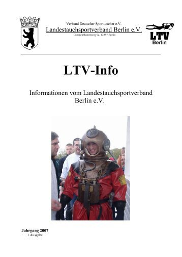 Ltv-Info - DEUTSCHER UNTERWASSER-CLUB BERLIN ev