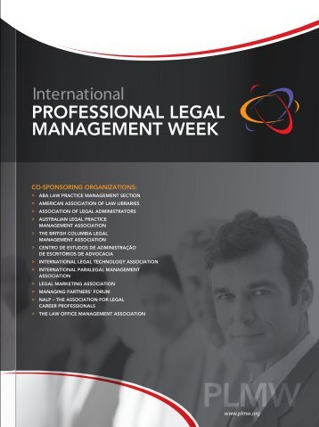 4 th annual issue - International Professional Legal Management ...