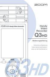 Handy Video Recorder - ZOOM