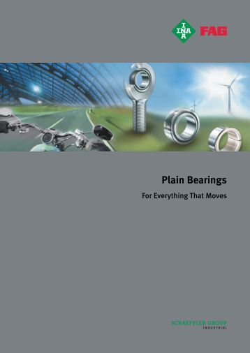 Plain Bearings For Everything That Moves PLG - Hedan