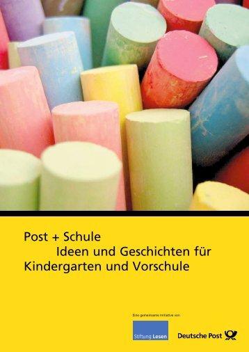 Post + Schule Ideen und Geschichten für ... - Deutsche Post