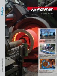 Magazine for employees and business partners of the ... - Duktus