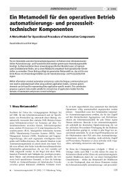 Full Paper - Lehrstuhl für Prozessleittechnik