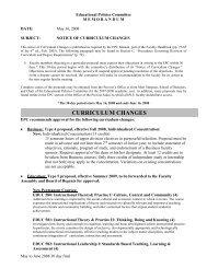 Educational Policies Committee