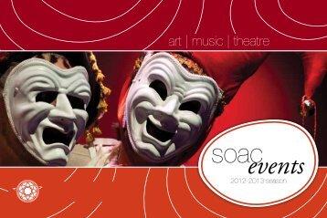 SOAC Events Brochure - Pacific Lutheran University