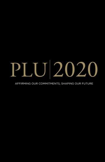 PLU 2020 - Pacific Lutheran University