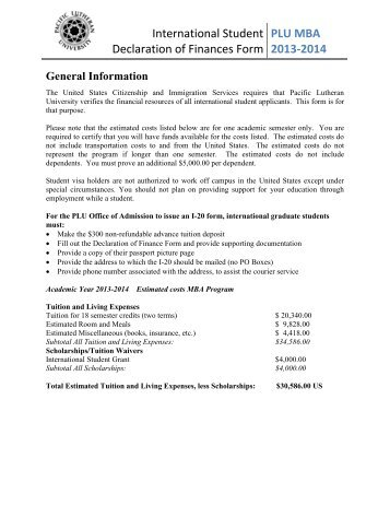 Graduate Forms Directory