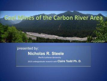 Nicholas R. Steele - Pacific Lutheran University