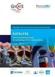 roadmap der deutschen katalyseforschung katalyse eine - Gdch