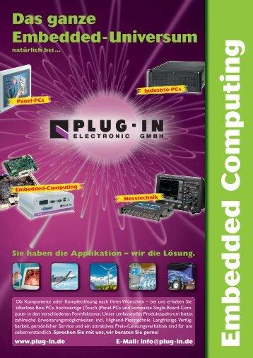 PDF-Broschüre jetzt herunterladen - PLUG-IN Electronic GmbH
