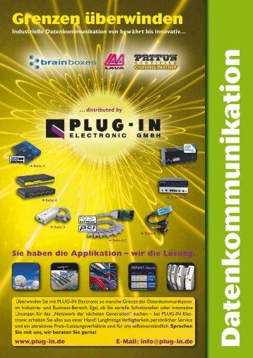 von Brainboxes, Lava Computers und Patton Electronics - PLUG-IN ...