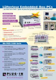 PICE-3100-Serie - PLUG-IN Electronic GmbH