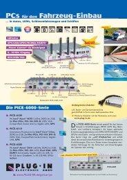 PCs für den Fahrzeug-Einbau - PLUG-IN Electronic GmbH