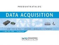 Datenerfassung von Measurement Computing & IOtech - PLUG-IN ...