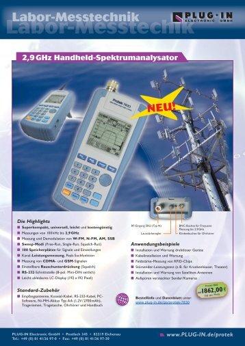 Labor-Messtechik - PLUG-IN Electronic GmbH