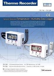 Network-Dedicated Temperature / Humidity Data Logger Network ...