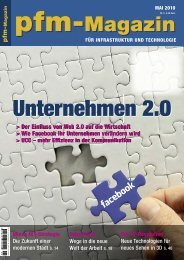 effizienz in der kommunikation pfm- Magazin sharepoint - Tripple.net
