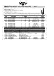 EATON PW USV-3ph + Zubehör - Plug
