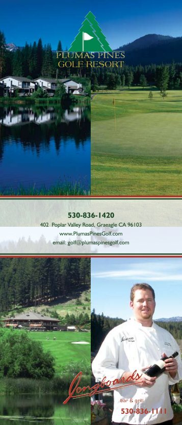 Plumas Pines Golf Resort