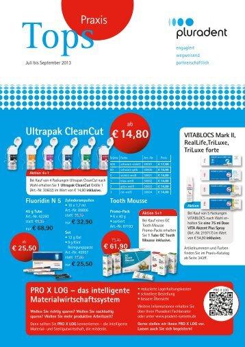 Tops Praxis Juli bis September 2013 - Pluradent