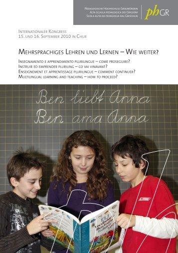 Mehrsprachiges Lehren und Lernen – Wie Weiter