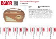 Radio/Kofferradio/Ingelen - Bazar.at