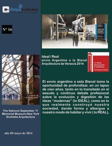 Nota Real/Ideal e-AN N° 16 mono 2 publicidades