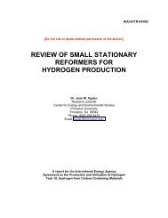 Review of Small Stationary Reformers for Hydrogen Production