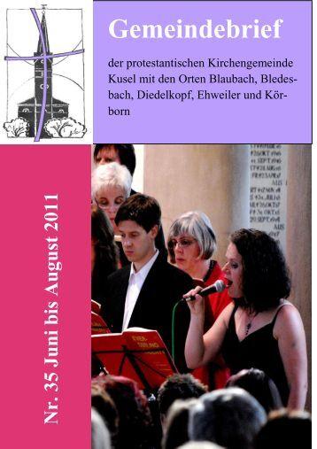 Gemeindebrief - Evangelische Kirche der Pfalz