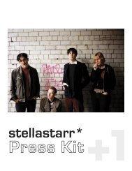 stellastarr - +1 Records