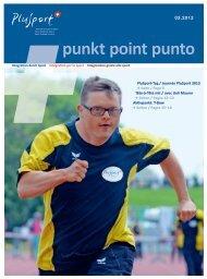 Ausgabe 3/2013 von +punkt herunterladen - Plusport