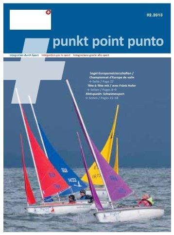 punkt point punto - PLUSPORT Behindertensport Schweiz