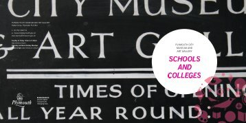 Schools and colleges pack - Plymouth City Council