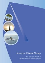 Acting on Climate Change - Plymouth City Council