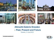Altmarkt-Galerie Dresden – Past,  Present and ... - Deutsche EuroShop