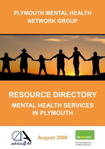 Mental Health Directory - eVersion - Plymouth City Council
