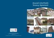 Assured (shorthold) Tenancy Agreement - Plymouth Community ...